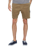 VISSLA - Sofa Surfer Take It Easy Corduroy Casual Shorts 18.5