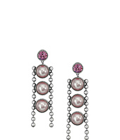 Marc Jacobs - Ball Chain Pearl Earrings