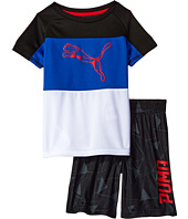 Puma Kids - PUMA® Two-Piece Shorts & Tee Set (Little Kids/Big Kids)