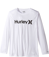 Hurley Kids - One & Only Sun Protect Long Sleeve Tee (Big Kids)