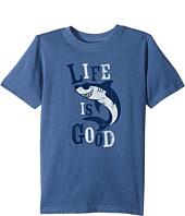 Life is Good Kids - Shark Crusher Tee (Little Kids/Big Kids)
