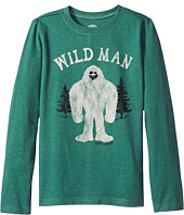 Life is Good Kids - Wild Man Long Sleeve Crusher Tee (Little Kids/Big Kids)