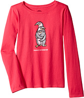 Life is Good Kids - Penguin Family Long Sleeve Crusher Tee (Little Kids/Big Kids)