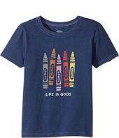 Life is Good Kids - Human Crayons Crusher Tee (Toddler)