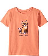 Life is Good Kids - Cat Love Crusher Tee (Toddler)
