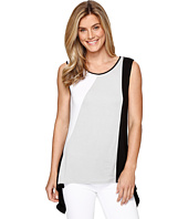 Tribal - Jersey Color Block Sleeveless Top