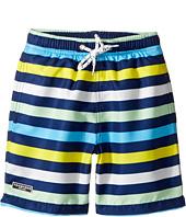 Toobydoo - Multi Stripe Swim Shorts (Infant/Toddler/Little Kids/Big Kids)