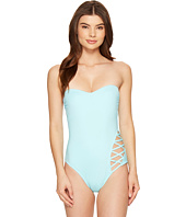 Kenneth Cole - Sheer Satisfaction Bandeau One-Piece