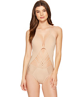 Kenneth Cole - Sexy Solids Push-Up One-Piece