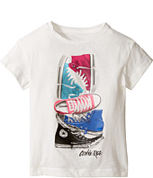Converse Kids - Stackerd Chuck II Tee (Toddler/Little Kids)