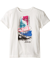 Converse Kids - Stacked Chuck II Tee (Big Kids)