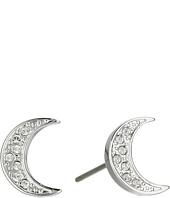 Swarovski - Crystal Wishes Moon Pierced Earrings