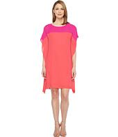 Tribal - Crepe Color Block Caftan Dress