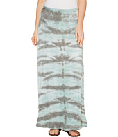 Tribal - Slub Knit Jersey Tie-Dye Maxi Skirt