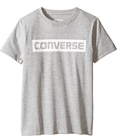 Converse Kids - HD Wordmark Tee (Big Kids)