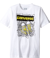 Converse Kids - BK Map Tee (Big Kids)