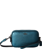 COACH - Metallic Crossbody Clutch