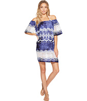 La Blanca - Denim & Lace Off The Shoulder Dress Cover-Up