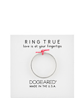 Dogeared - Wide Flat Ring