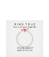 Dogeared - Thin Flat Band Ring