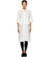 Y's by Yohji Yamamoto - Short Sleeve Work Shirtdress