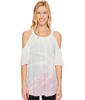 Hard Tail - Cold Shoulder A-line Top