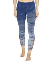 Hard Tail - Flat Waist Mesh Inlay 7/8 Pants