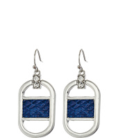 GUESS - Drop Earrings with Faux Python