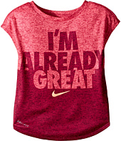 Nike Kids - Heather Already Great Short Sleeve Tee (Toddler)