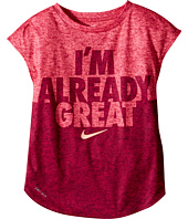 Nike Kids - Heather Already Great Short Sleeve Tee (Little Kids)