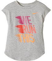 Nike Kids - We Run This Modern Short Sleeve Tee (Little Kids)