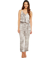 Michael Stars - Water Wash Surplice Cropped Jumpsuit
