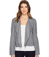TWO by Vince Camuto - Drapey Linen Moto Jacket