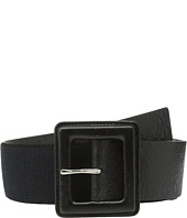 MICHAEL Michael Kors - 50mm Monogram Panel Belt on Self Cover Buckle
