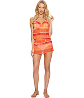Polo Ralph Lauren - Playa Stripe High Neck Dress Cover-Up