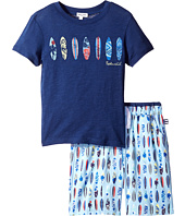 Splendid Littles - Surfboard Printed Short Set (Little Kids/Big Kids)
