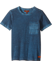 7 For All Mankind Kids - Crew Neck Tee (Little Kids/Big Kids)