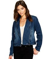Blank NYC - Jersey Blue Moto Jacket in Hello Moto