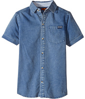 7 For All Mankind Kids - Short Sleeve Textured Knit Shirt (Big Kids)