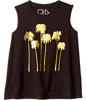 Chaser Kids - Golden Palms Tank Top (Toddler/Little Kids)