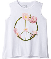 Chaser Kids - Garden Peace Wreath Tank Top (Toddler/Little Kids)