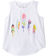Chaser Kids - Painted Feathers Tank Top (Toddler/Little Kids)
