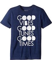 Chaser Kids - Good Vibes Tee (Little Kids/Big Kids)