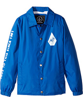 Volcom Kids - Brews Coach Jacket (Big Kids)