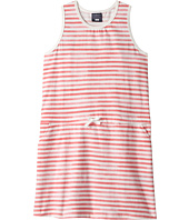 Toobydoo - Red & White Stripe Beach Cover-Up (Toddler/Little Kids/Big Kids)