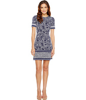 MICHAEL Michael Kors - Short Sleeve Tansy Border Dress