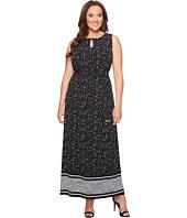MICHAEL Michael Kors - Plus Size Nora Border Maxi Dress