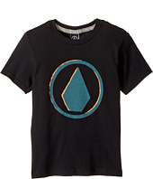 Volcom Kids - Burnt Short Sleeve Tee (Toddler/Little Kids)