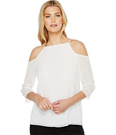 Ellen Tracy - Cold Shoulder Blouse