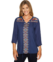 Rock and Roll Cowgirl - 3/4 Sleeve Top B4-3181